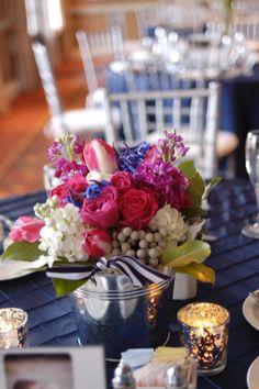 Nautical wedding theme decorations