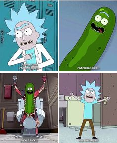 Rick and Morty • Tiny Rick & Pickle Rick