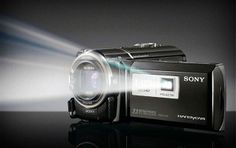 Sony HDR-PJ380/W High Definition Handycam Camcorder with 3.0-Inch LCD (White) by Sony: photographyaffect...