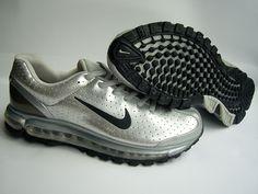 competitive price 077a5 0e131 Nike Air Max 2003 Black Metallic Silver
