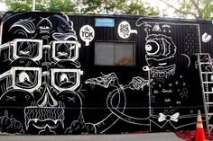 The Centre-Fuge Public Art Project has again transformed a once-abandoned trailer into one of the East Village's most enticing visual works