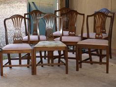 MAHOGONY VICTORIAN DINING CHAIRS For Sale In Minehead Somerset