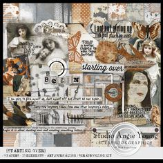 Starting Over : Studio Angie Young http://shop.scrapbookgraphics.com/Starting-Over.html