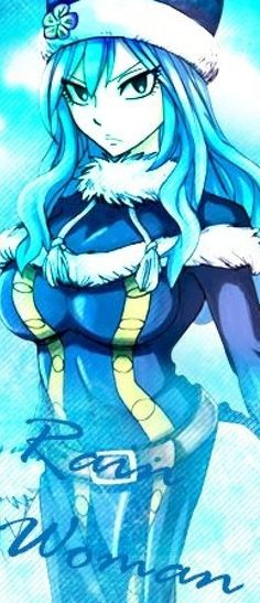 I love Juvia so much you don't even understand. She's so badass.