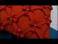 Capitonê almofada diagonal - YouTube
