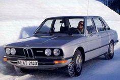 2nd Gen. B.M.W. V (5)-series car driven in snow