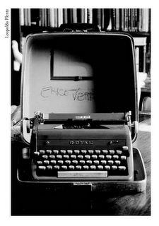 máquina de escrever antiga, do escritor Érico Veríssimo