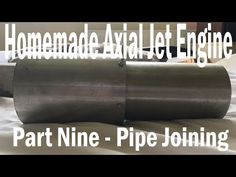 Here is the pipe joint that joins the large pipe to the smaller one using the upper duct made in part This part worked out perfectly with no hitches along. Gas Turbine, Jet Engine, Rockets, Engineering, Science, Homemade, Mini, Youtube, Home Made