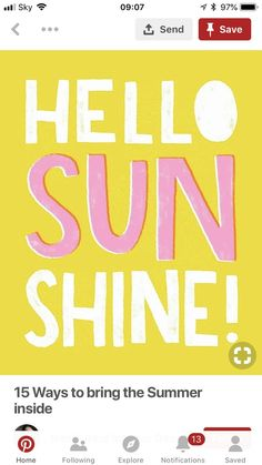 Stay safe out there in the sun today people! It's gorgeous weather but cover up and use sun lotion please. Have fun everyone Sun Lotion, Stay Safe, Brave, Sunshine, Bring It On, Weather, Sky, Cover, People