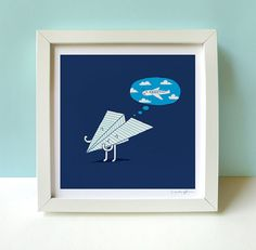 For a Boys Room...  When I Grow Up  Print von ilovedoodle auf Etsy, $30,00