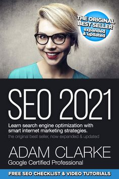 Learn SEO and rank at the top of Google with SEO 2021—beginner to advanced! Content Marketing Strategy, Seo Marketing, Internet Marketing, Affiliate Marketing, Adam Clarke, Top Search Engines, Free Advertising, Search Engine Optimization, Make Money Blogging