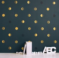 Phases of the moon mural: stunning!