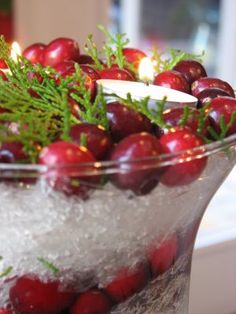 Plastic wrap is not only good for wrapping food it is perfect for giving centerpieces that snowy or icy look. With just a long, long piece of plastic wrap you can create many interesting looks with your centerpiece