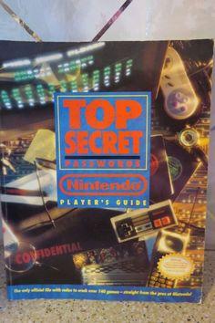 1992 NINTENDO Top Secret Passwords Player's Guide Nintendo Strategy Book
