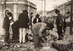"""Vicenzo Pastore, """"Esquina da rua 25 de Março com General Carneiro"""", 1910"""