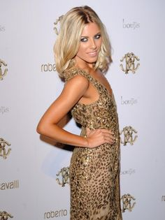 Mollie King has the Midas touch,  in this golden dress. Simply stunning!