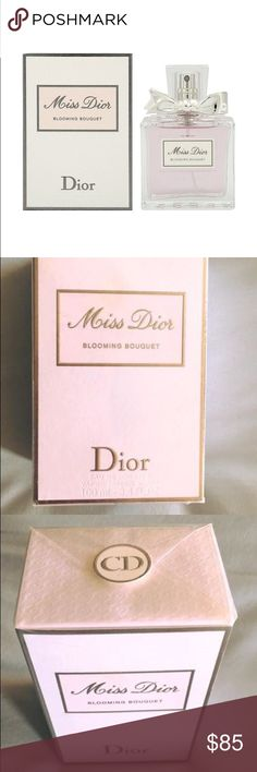 Miss Dior Blooming Bouquet Perfume 3.4oz (largest size) bottle of Miss Dior Blooming Bouquet perfume ~ New in wrapped & sealed box ... never opened! Excellent price ... I'm only selling because I switched to Flower Bomb :) Dior Other