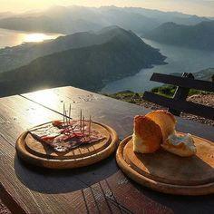 View of Kotor Bay, Montenegro. #montenegro #view
