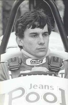 Ayrton Senna, F3, 1984.