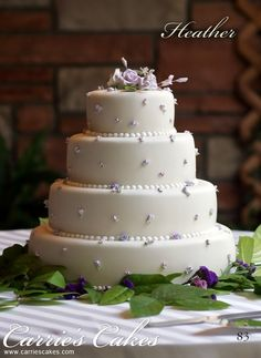 Wedding Cakes - Carries Wedding Cakes