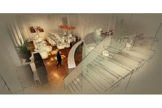 Interior Render using Sketchup