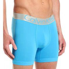Calvin Klein, Steel Boxer Brief In Blue Ritual | TEMPTBRANDS