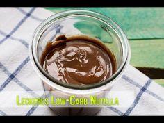 Low Carb Nutella einfach und schnell hergestellt, keine 10 Minuten und du hast eine perfekte Low Carb Nuss Nougat Creme fürs Brot.
