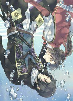 Hakuouki Shinsengumi Kitan (Demon Of The Fleeting Blossom) Image - Zerochan Anime Image Board Otaku, Touken Ranbu, Manga Art, Anime Manga, Anime Love, Anime Guys, The Garden Of Words, Cute Anime Couples, Kawaii Anime