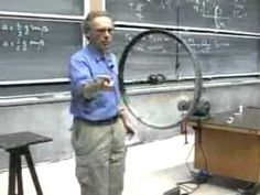 ▶ Wheel momentum  demonstration by Walter Lewin - daily dose of physics!