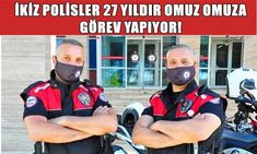 İKİZ POLİSLER 27 SENEDİR OMUZ OMUZA GÖREV YAPIYOR! - Pes24