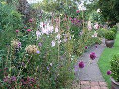 Old Farm Cottage Garden - Beautiful Borders