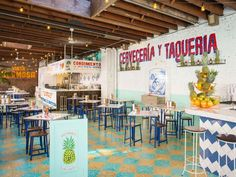 Tacombi's third location on Bleecker Street has the usual charm. Diners can expect the same delicious tacos and micheladas.