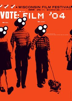 Planet Propaganda's Wisconsin Film Festival poster