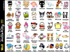 i remember when there were more Sanrio characters than just Hello Kitty. Pochacco <3