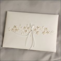 Decora Guest Book - Ivory