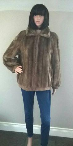 Vintage Astraka caramel faux fur bomber by CaronPowerJewellery