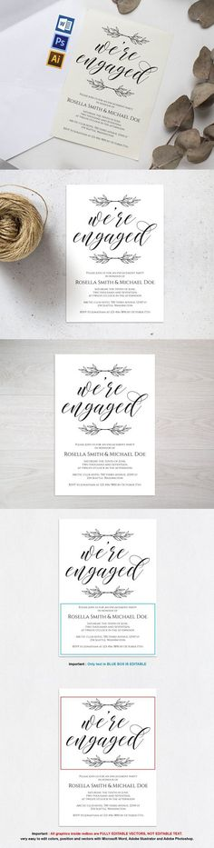 Engagement Invite Templates Classy Engagement Party Invitation Wpc222Weddingprintablesco .