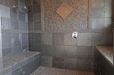 Fantastic Granite Shower Walls Pros and Cons . Fantastic Granite Shower Walls Pros and Cons . Here is A Better Picture Of A Parison Between Caesarstone Slate Bathroom, Marble Bathroom Floor, Bathroom Tile Designs, Bathroom Colors, Bathroom Flooring, Bathroom Ideas, Bathroom Wall, Bathroom Faucets, Tiled Bathrooms