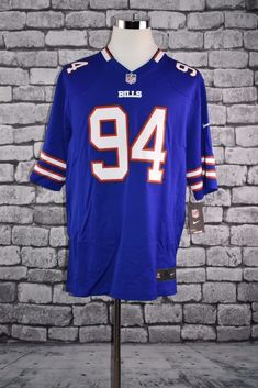 3d300b43f Nike Men s Buffalo Bills Mario Williams Football Jersey XLARGE NWT  Nike   BuffaloBills Mario Williams
