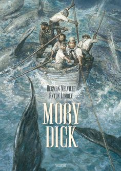 Moby Dick : The Illustrated Novel by Herman Melville Hardcover) for sale online Rebecca Daphne Du Maurier, Satire Comedy, Moby Dick, Captain Ahab, Joseph Heller, Grapes Of Wrath, Catcher In The Rye, Graham Greene, Album Jeunesse