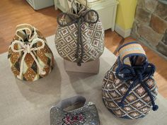 Mochilas/handbags made bY Silvia Tcherassi. I want!