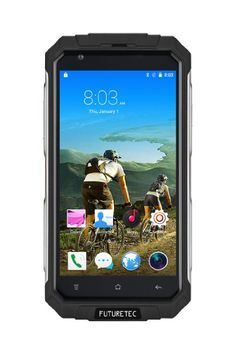 Great rugged Android 5.1 based phone, Futuretech® V9+ Dustproof Shakeproof smartphone  REVIEW | by Tex Reviews | August 3, 2016