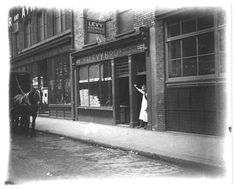 The Levy Brothers Jewish Bakery,  31 Middlesex Street, Whitechapel: c.1900