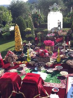 Persian wedding in Grasse