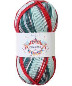 James C Brett - Fairground DK Yarn Brands, Acrylic Wool, Double Knitting, Hobbies And Crafts, Knitting Yarn, Free Pattern, Knit Crochet, Vibrant Colors, Aqua