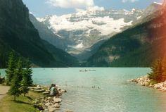 Weltreise 1990 - Kanada Lake Luise