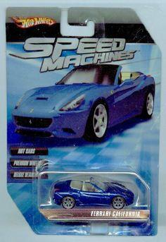 Hot Wheels Speed Machines DARK BLUE Ferrari California 1:64 Scale by Mattel. $14.99. Speed Machines. 1:64 Scale Die Cast Collector Car