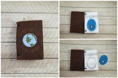 World Traveler Passport In The Hoop Embroidery Design