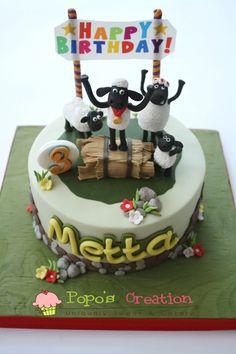 Popos Creation Shaun The Sheep Cake For METTA