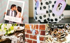 Incorporating photos of friends and family into your wedding decor is a simple way to make guests feel included and bring together loved ones who couldn't be there. You can go as simple as displayi...